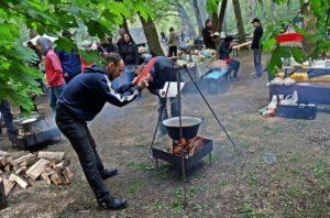 Jókai bableves-főzőverseny
